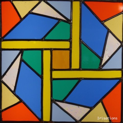 Stained glass initiation class beginner