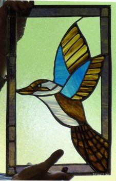 Copper-foil stained glass class beginners
