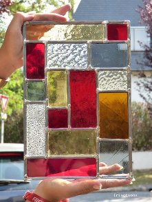 Stained glass initation workshop