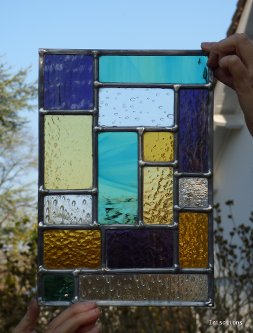 Stained glass initiation workshop