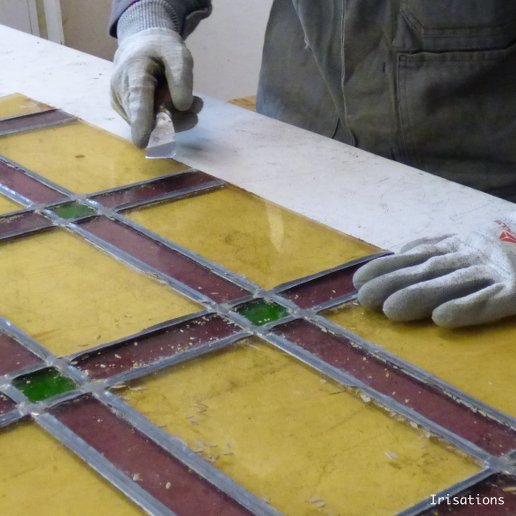 Stained glass professional training